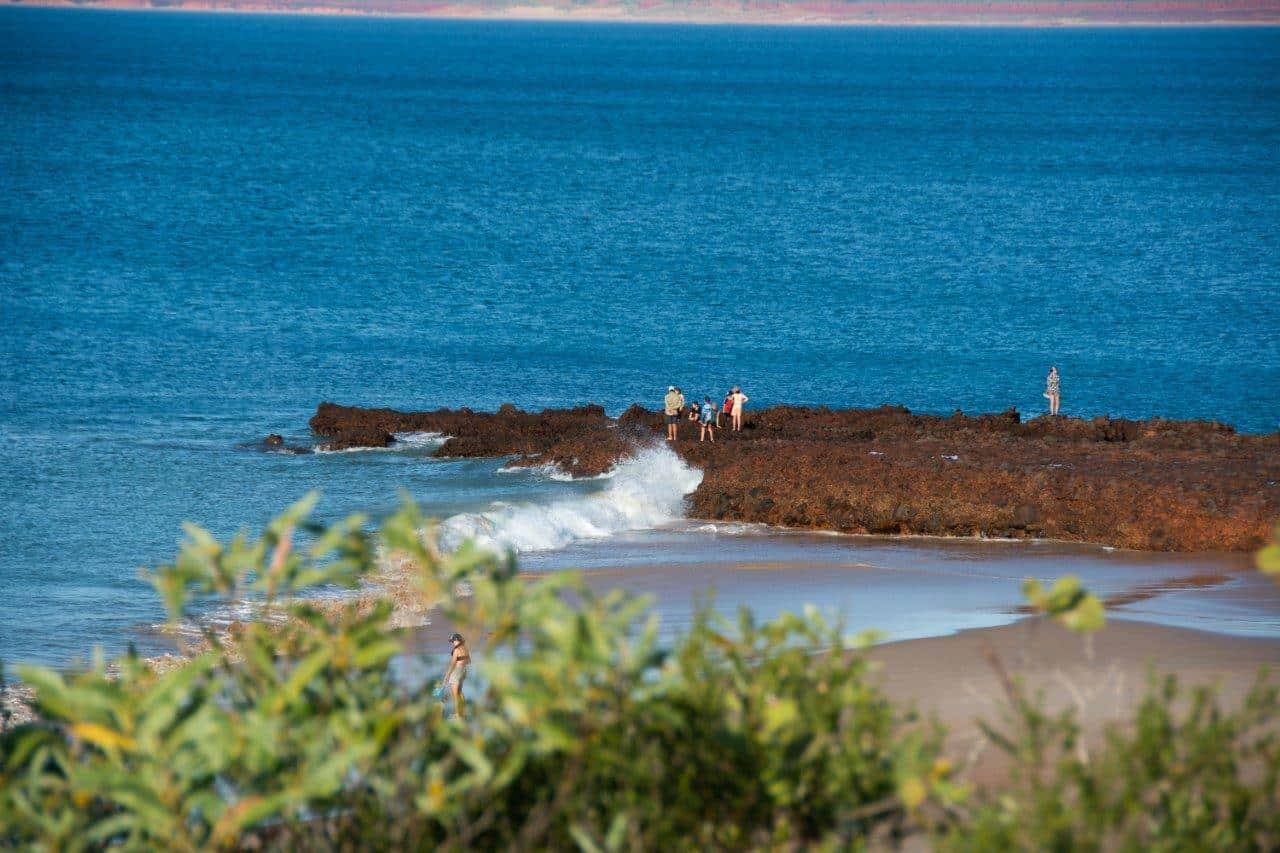 Waves at Pender Bay