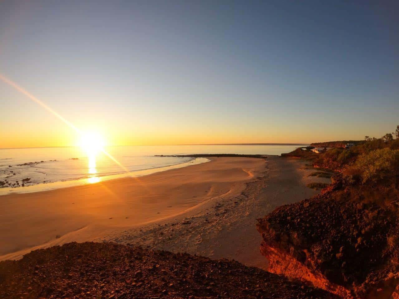 Pender Bay Sunset