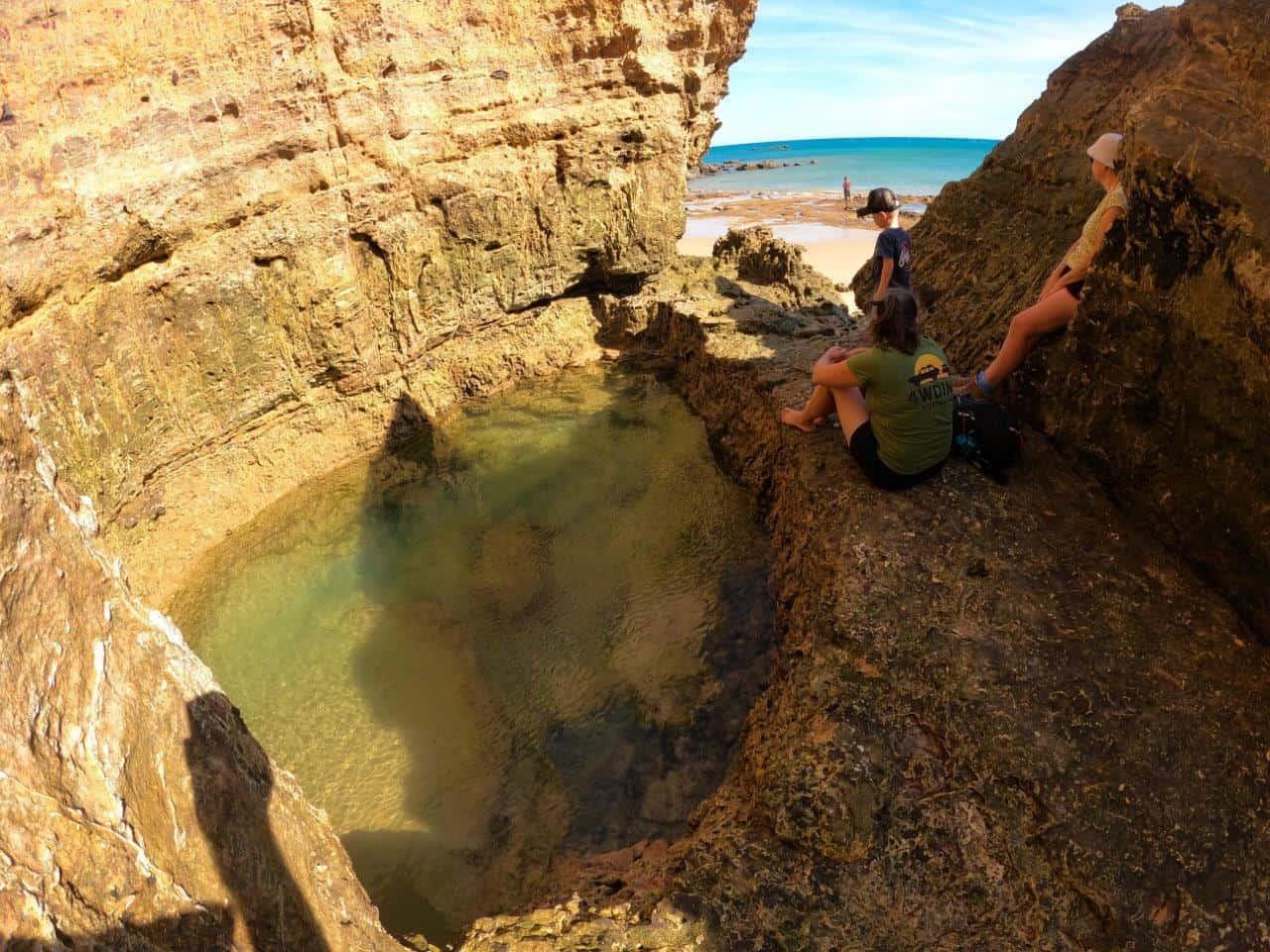Pender Bay Rock Pool