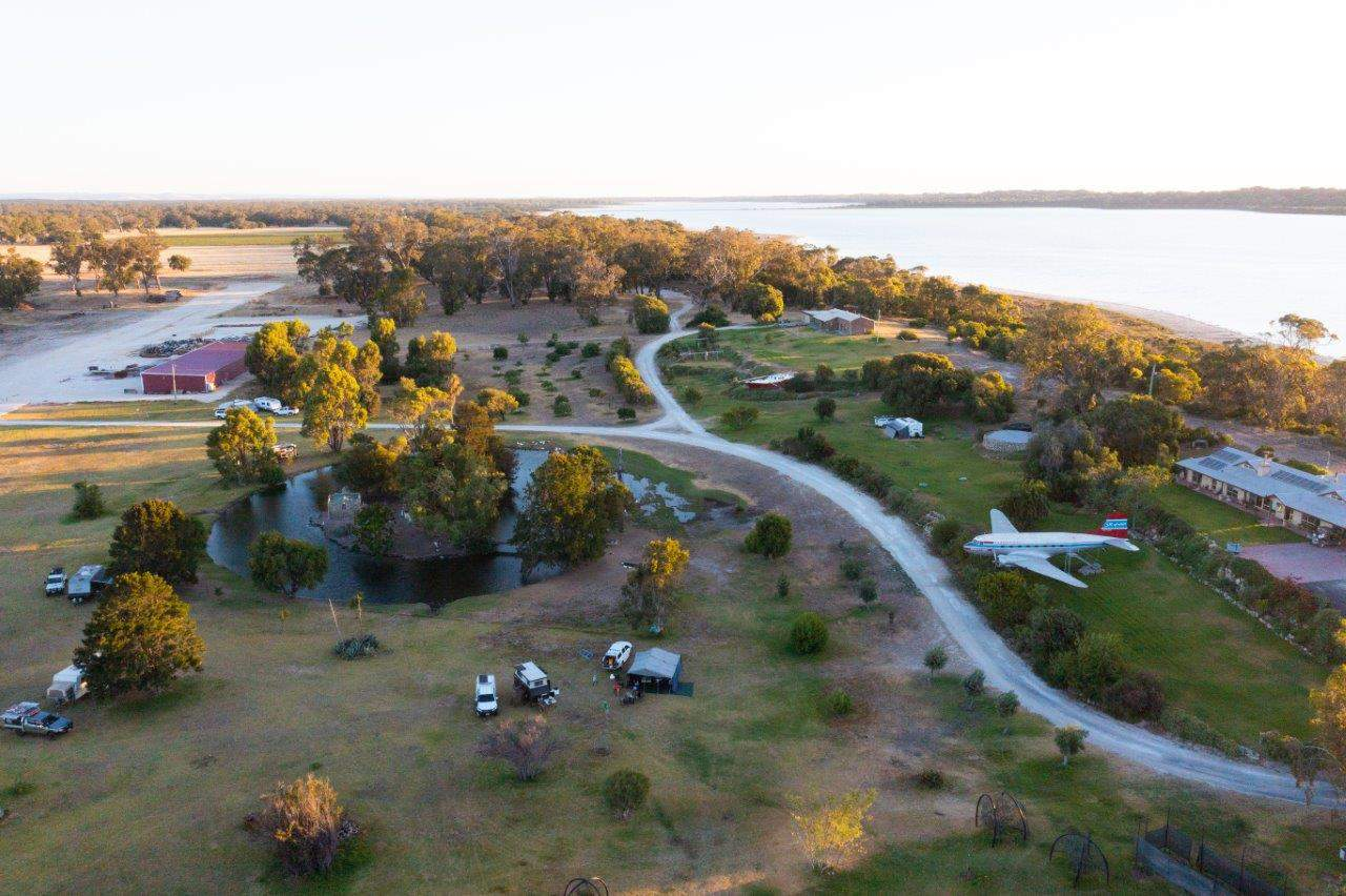 Lake Preston Lime Camping