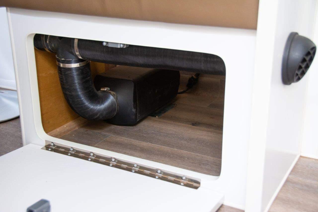 Caravan diesel heater