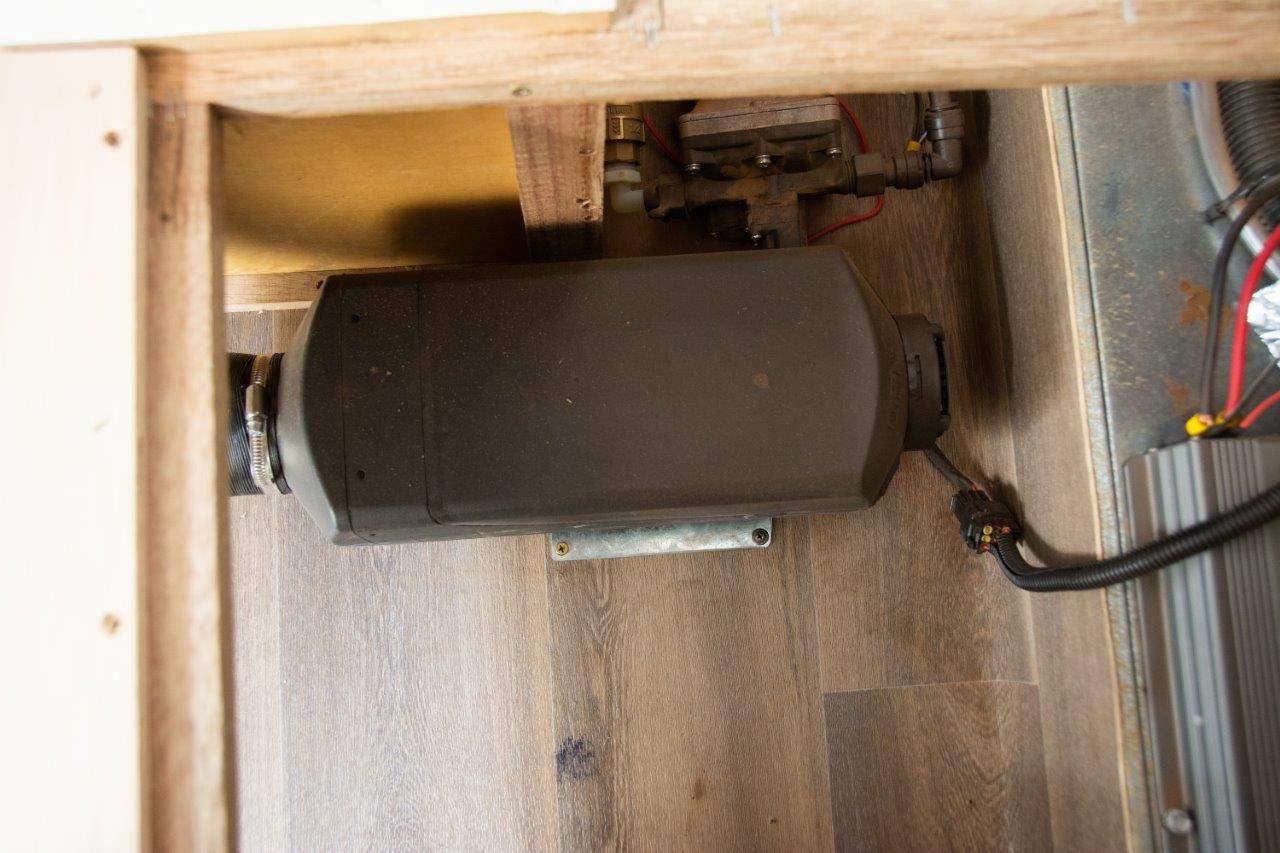 Diesel heater size