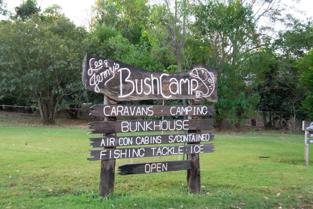 Lee and Jennys Bush Camp