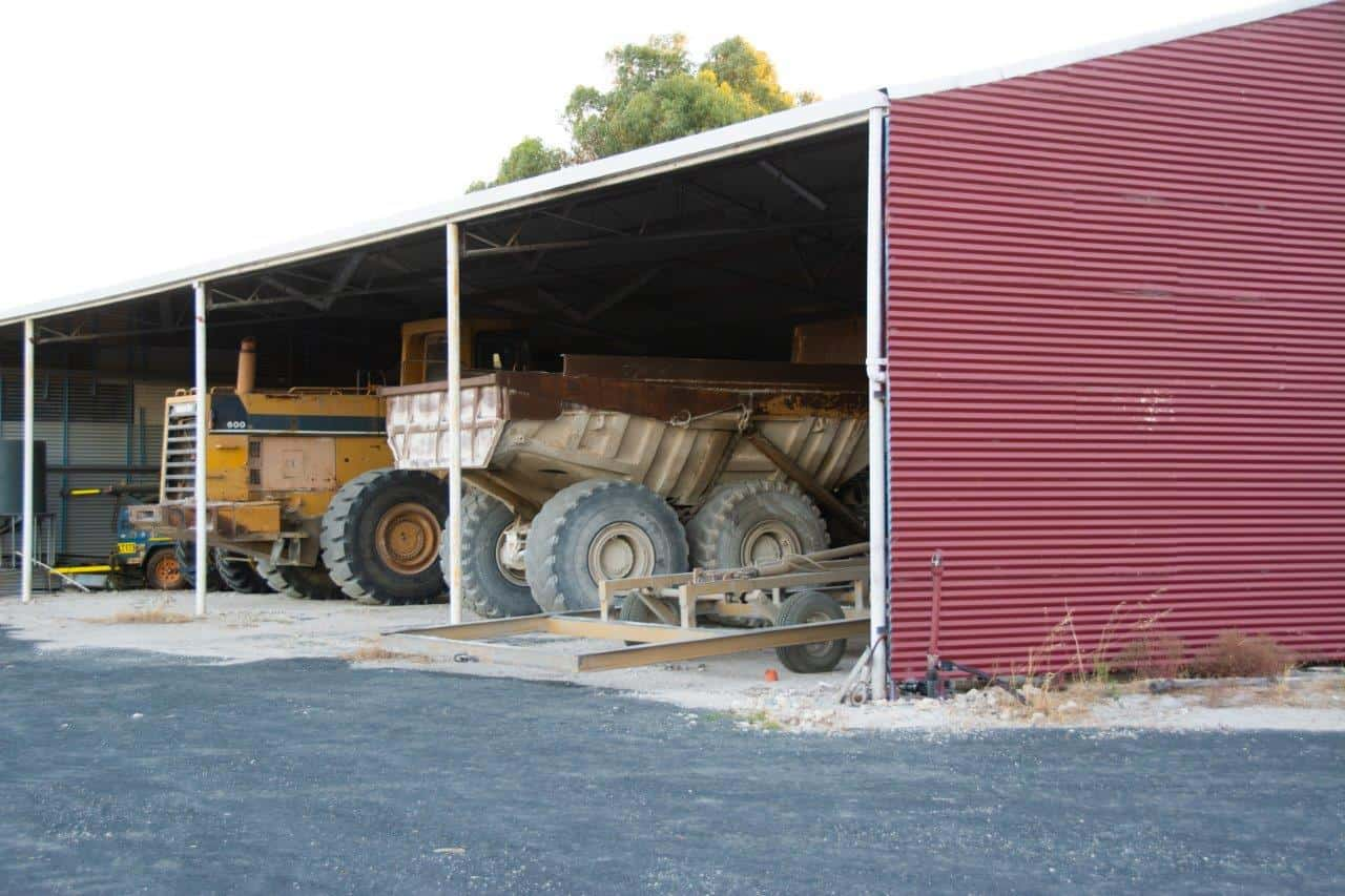 Machinery at Preston Lime
