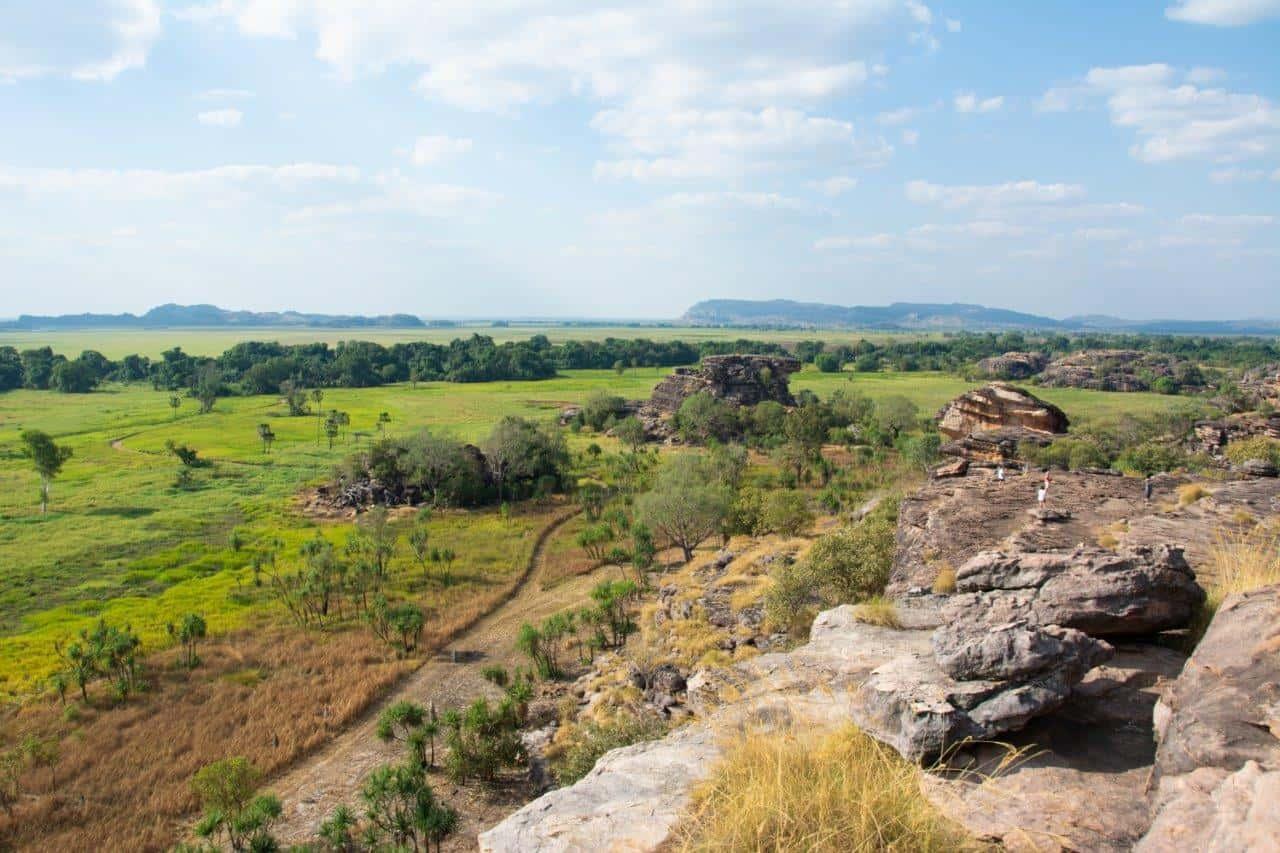 Stunning views from Ubirr