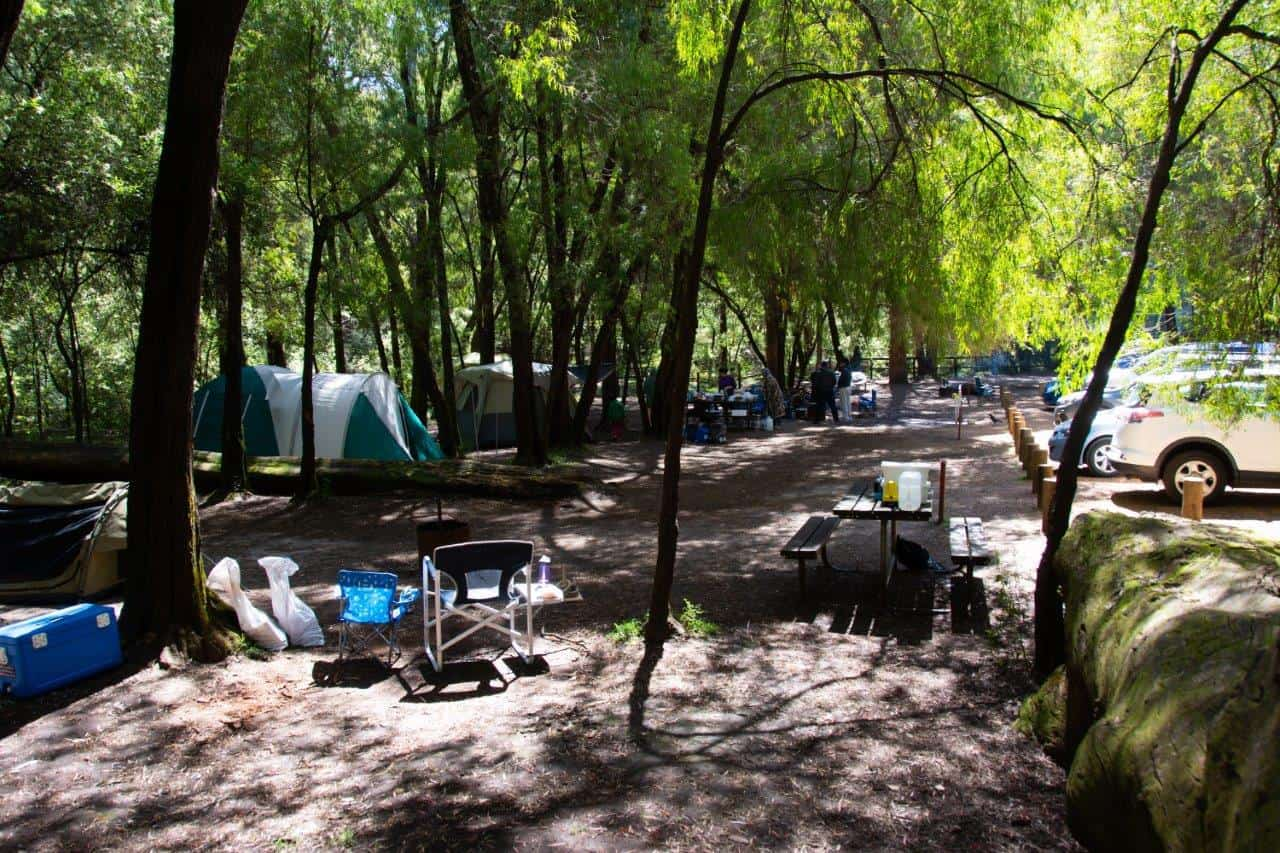 Honeymoon Pool Camping
