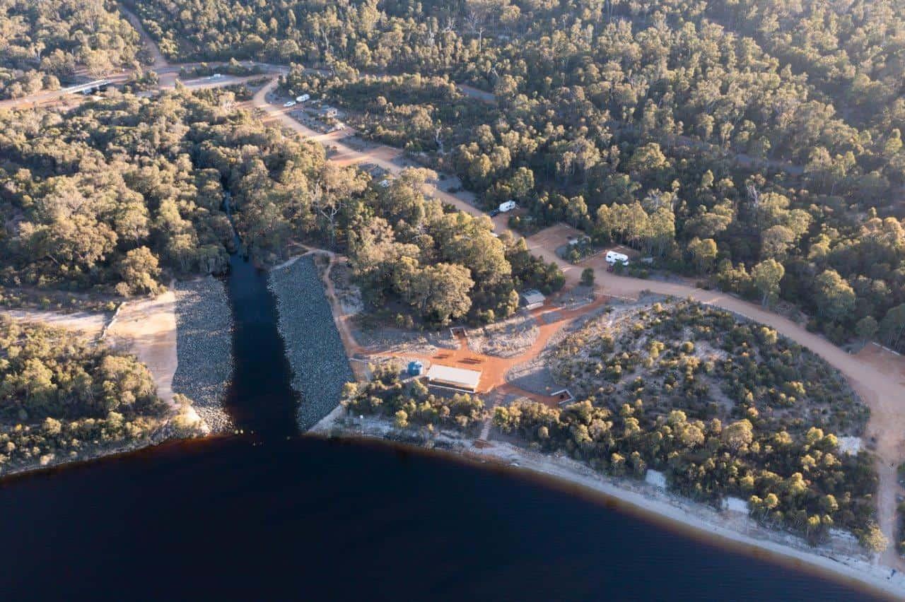 Camp sites at Kepwari