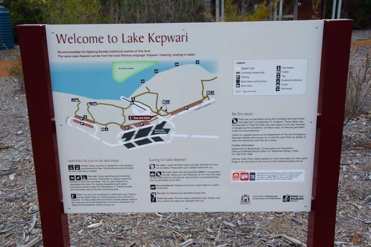 Lake Kepwari information