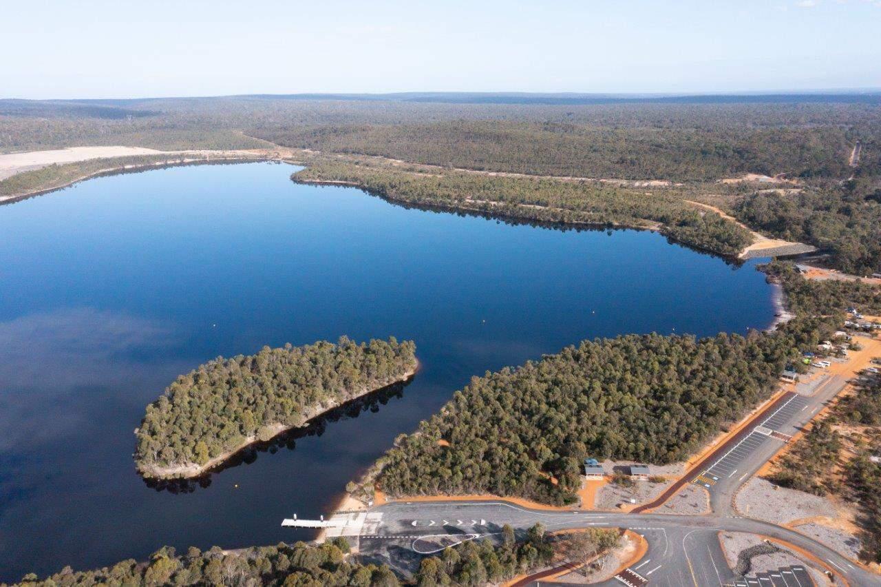 Lake Kepwari from above