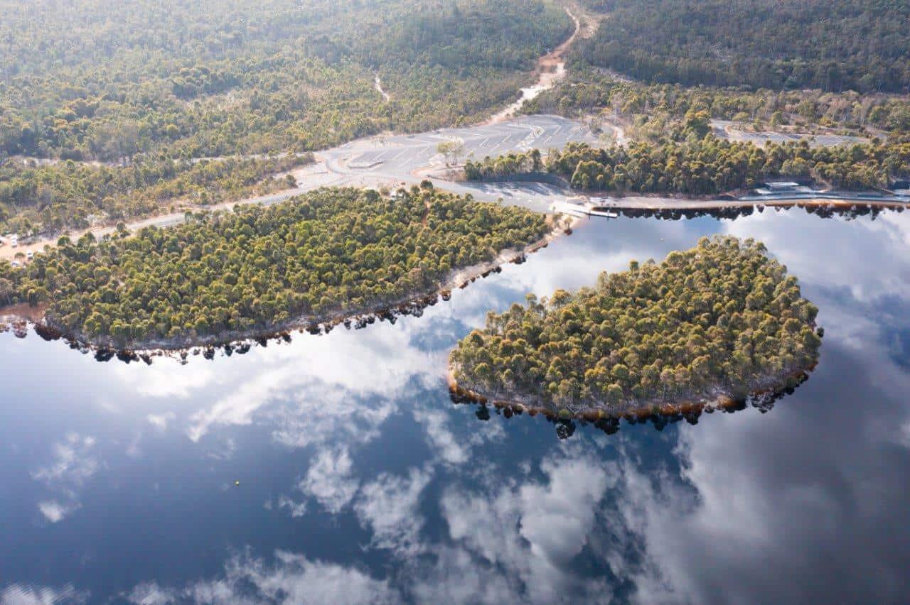 Lake Kepwari Island