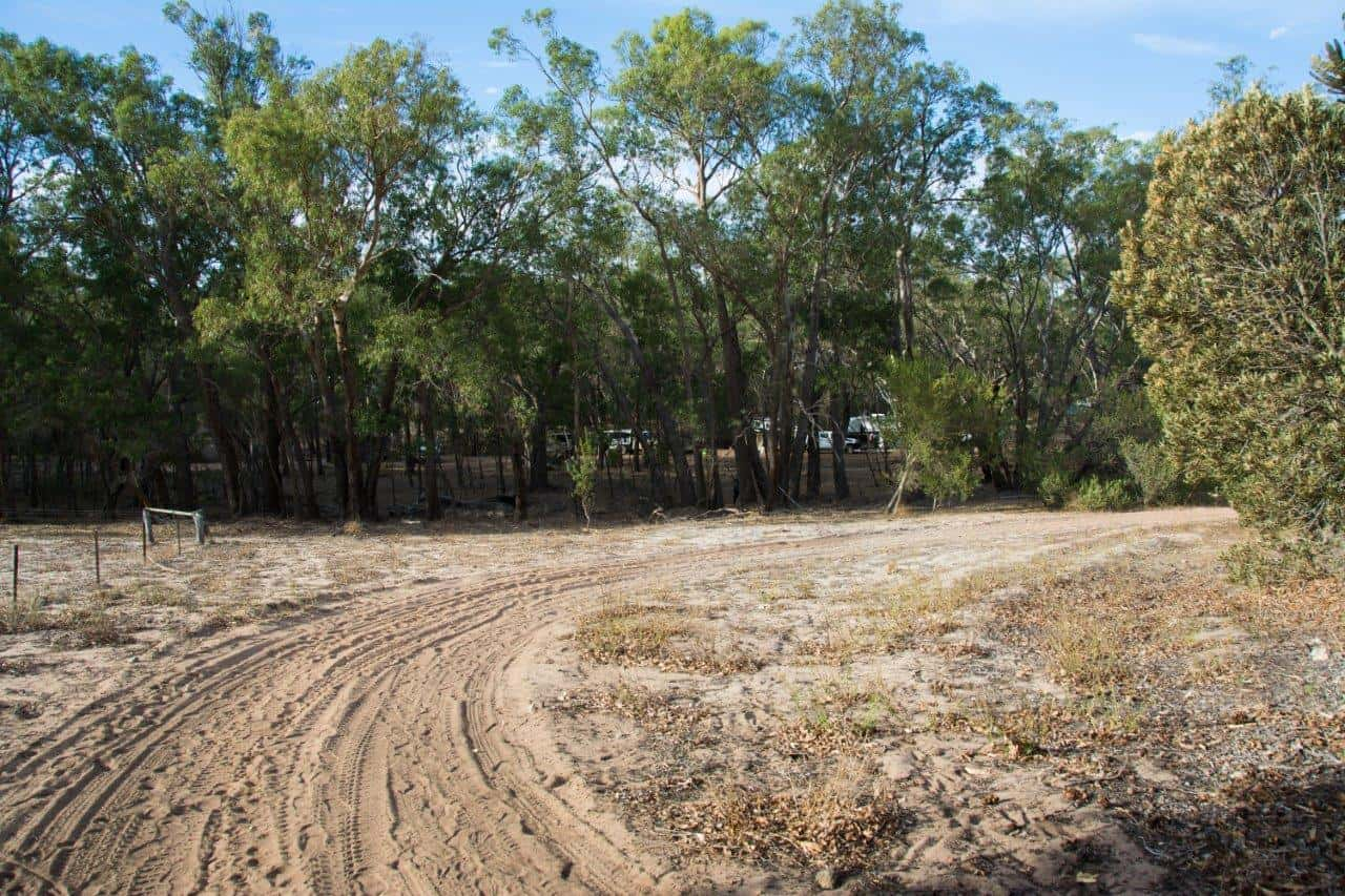 Riverside camps require a 4WD