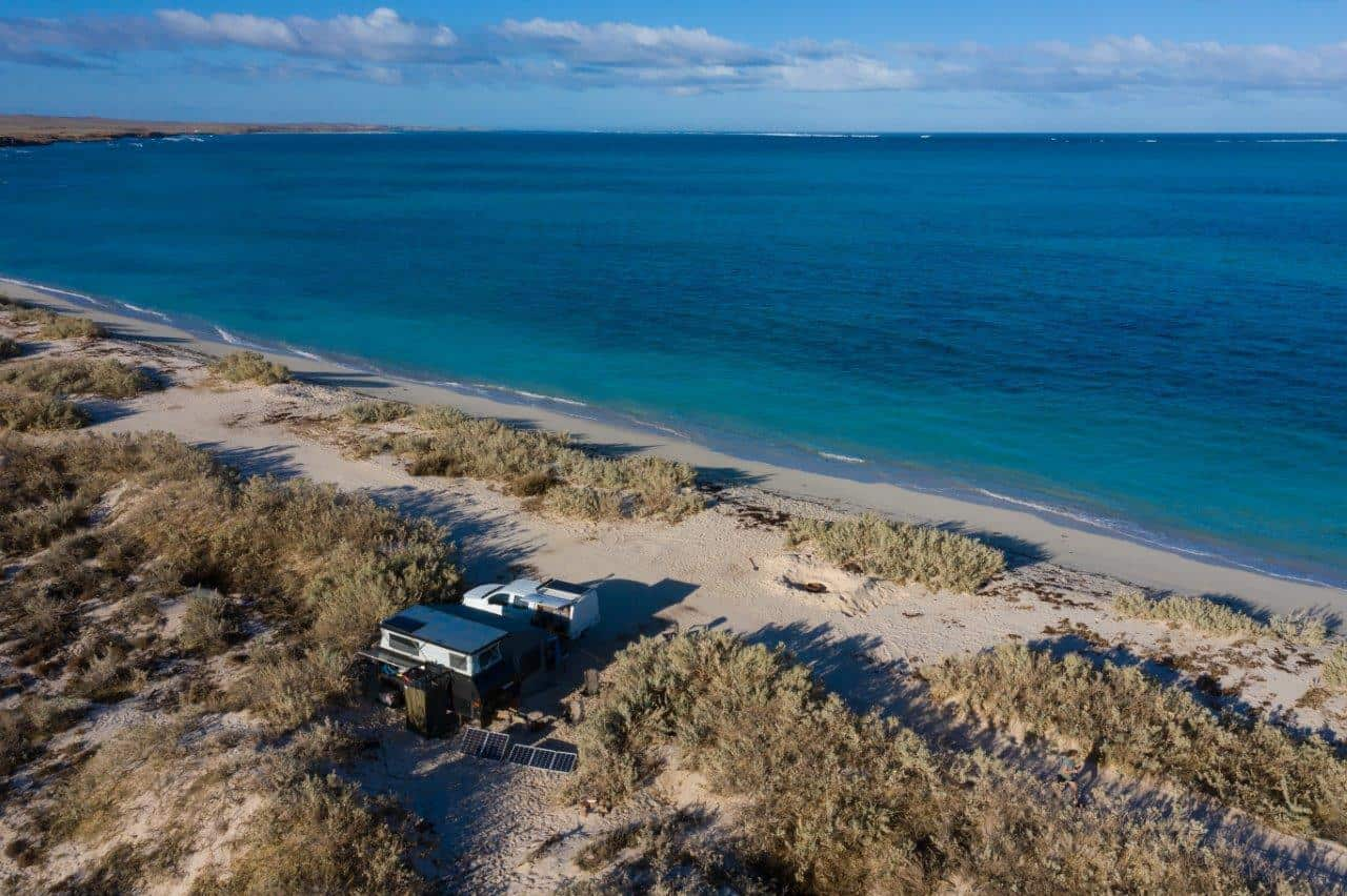 Camped on the Ningaloo Coast